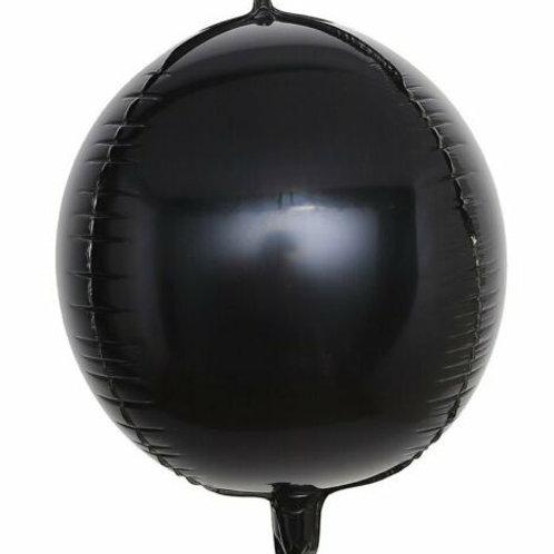 Black 4D Sphere