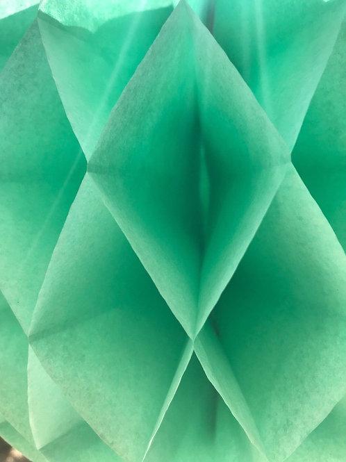 Mint Green Honeycomb