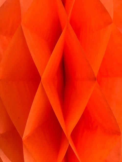 Burnt Orange Honeycomb