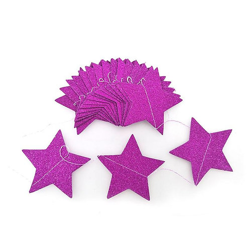 Stars - Pink Tail