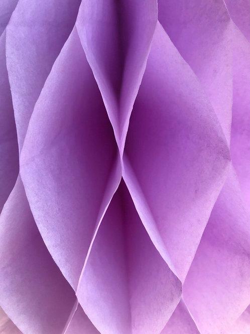 Lilac Honeycomb