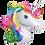 Thumbnail: Rainbow Unicorn Head