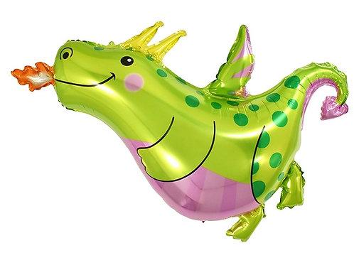 Friendly Green Dinosaur
