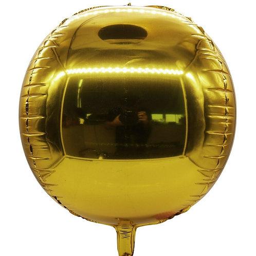 Gold 4D Sphere