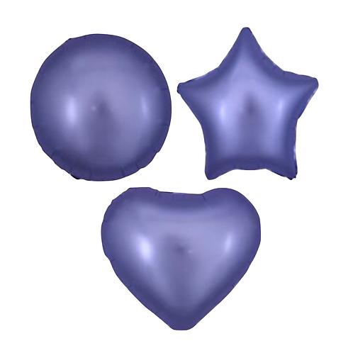 Light Purple Satin Heart/Star/Round