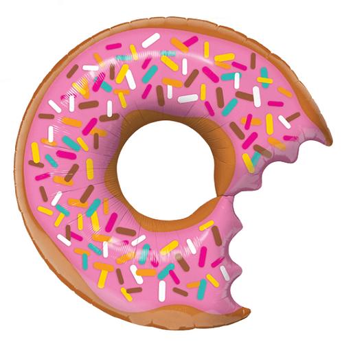 Pink (with Bite) Doughnut
