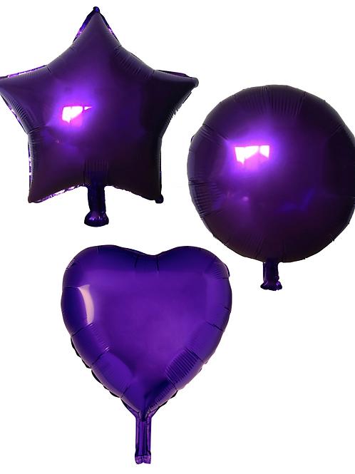 Purple Heart/Star/Round