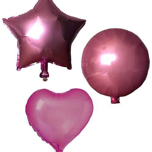 Light Pink Heart/Star/Round