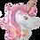 Thumbnail: Pink Unicorn Head