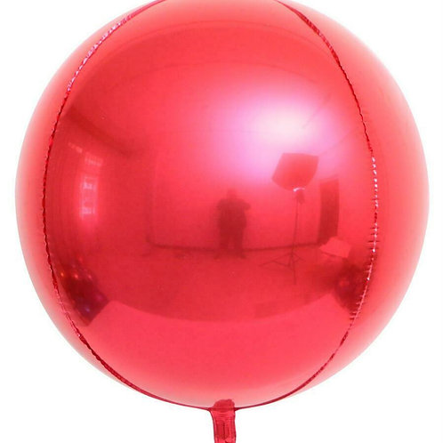 Red 4D Sphere
