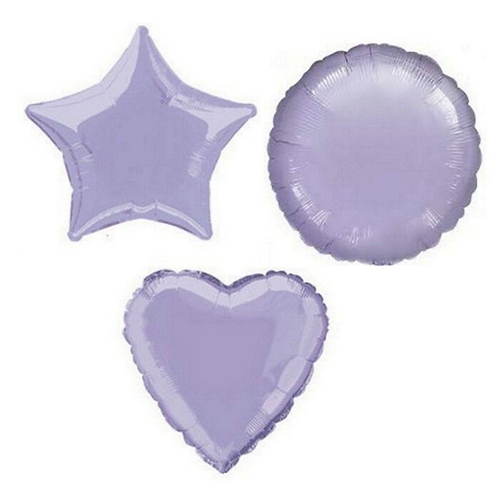 Lilac Heart/Star/Round