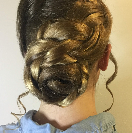 Low Formal Updo