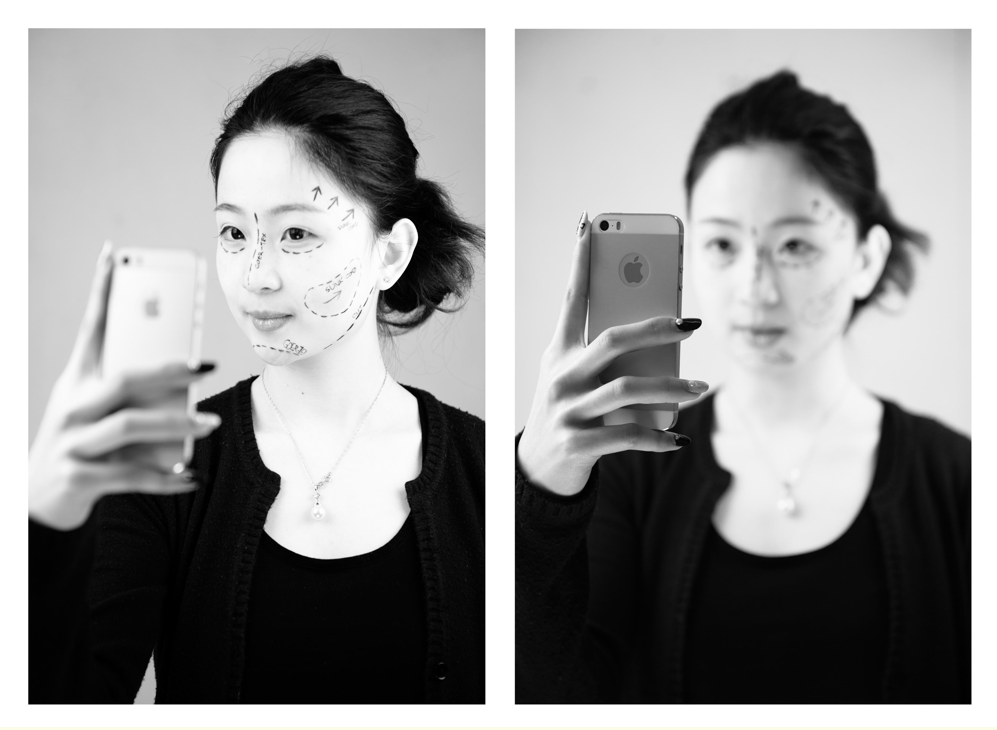 Selfie  30 x 42cm Photographic Print