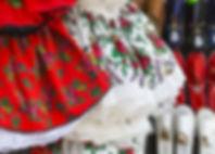 Платья народных танцовщиц