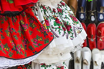 Folk tanečnice Šaty
