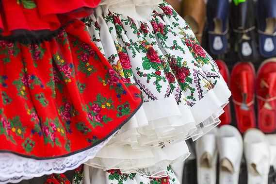 Vestidos de bailarina folk