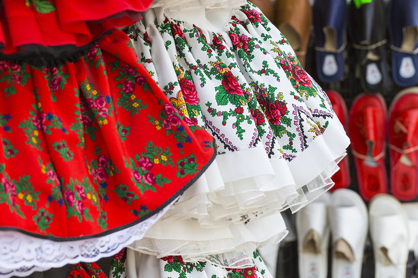 Folk Dancer Jurken