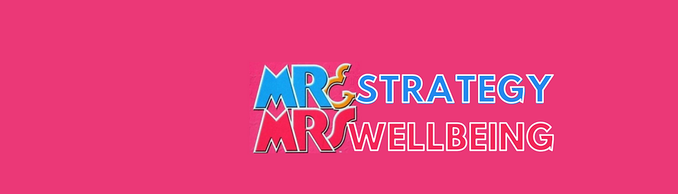 Mr Strategy & Mrs Wellbeing show image