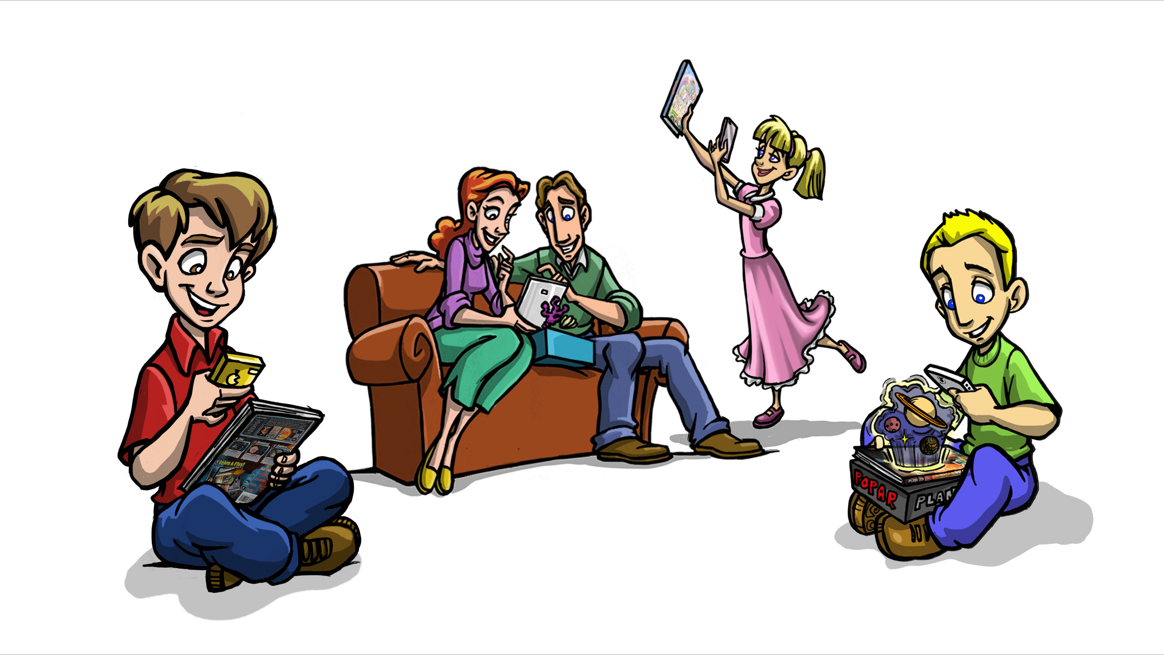 Popar Book-family_scene_color