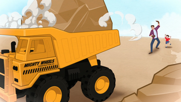 Mighty Wheels Trucks
