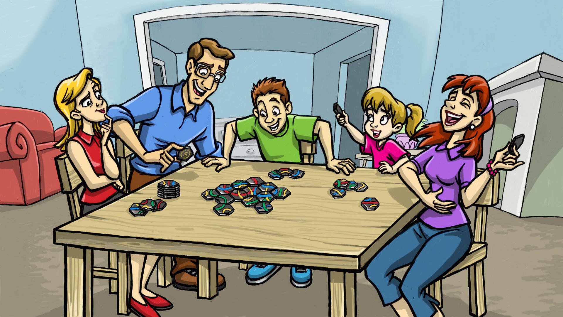 Tantrix- Family Scene color