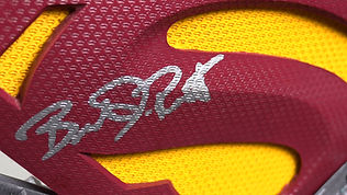 Signed Superman Symbol on The Geekery View