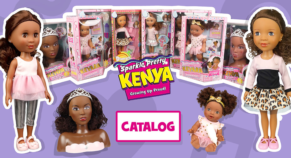 Kenya Girl Doll - Catalog - curly to str
