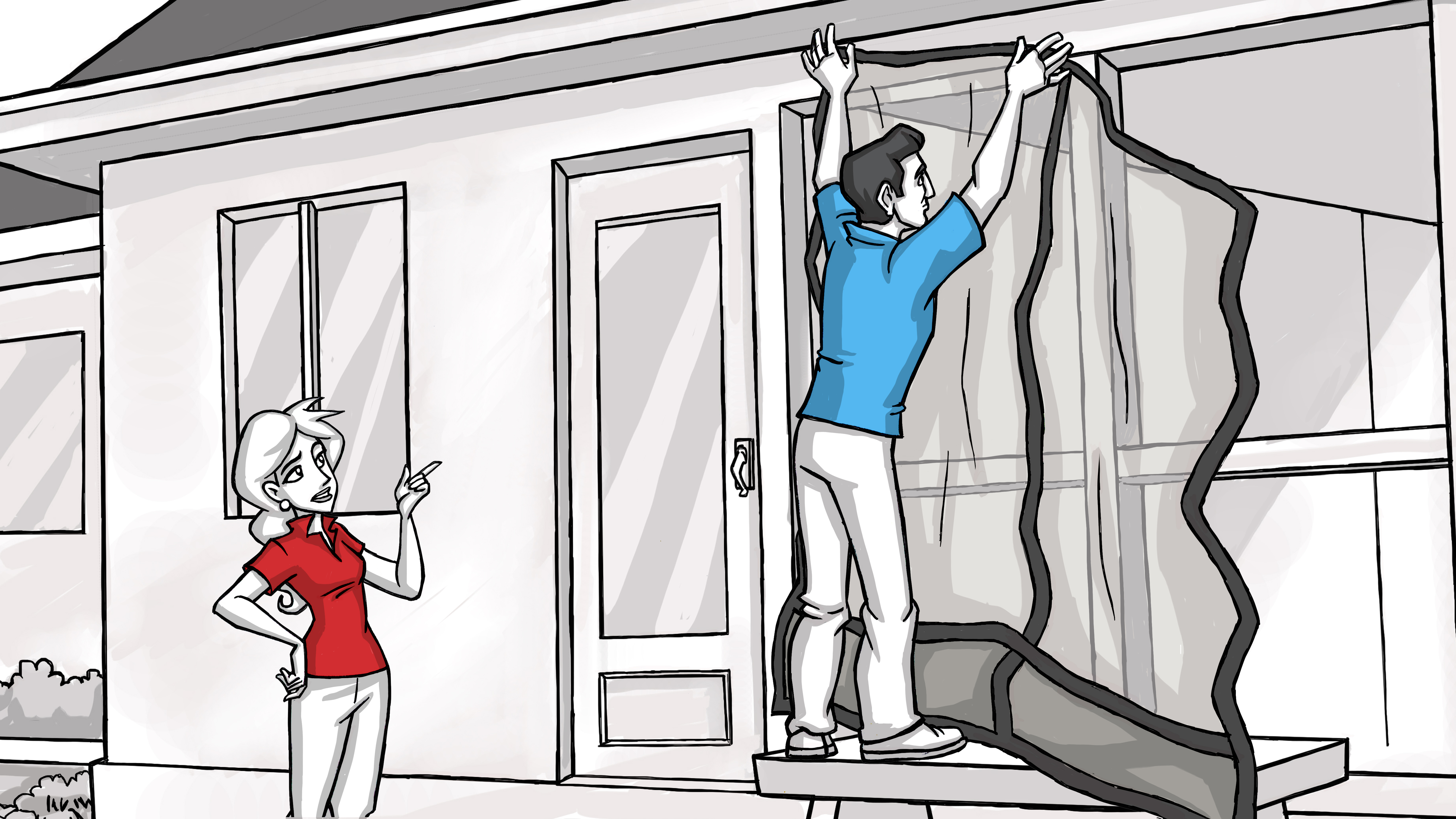 Mosquito Curtains 2 - Scene 04b