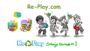 Best Instructional Video Company in Utah - 4 kids playing toys and plates as instruments, recycled dishes