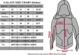 2015 Galaxy Hoodie - Size Chart-GRADED 0