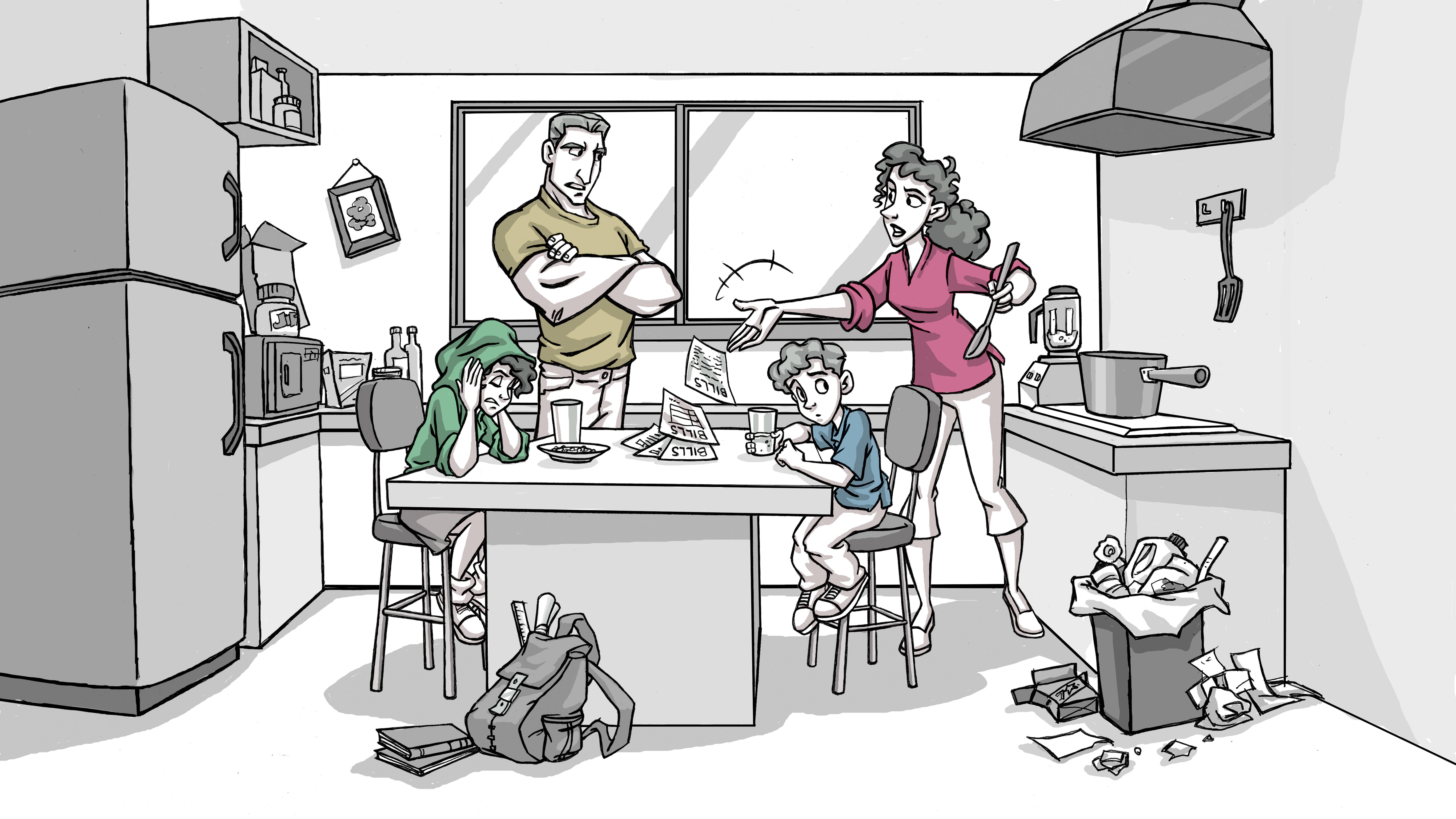 A Warriors Family - Sc002 Color