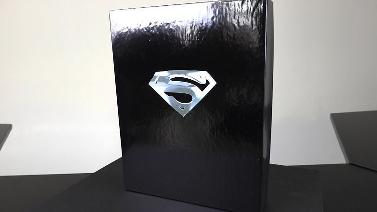 Superman Symol featured on The GeekeryView TV