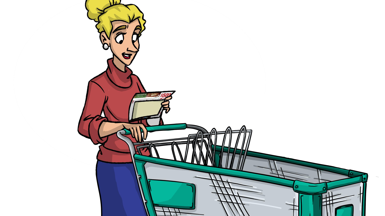 Grocery Doodles - cart