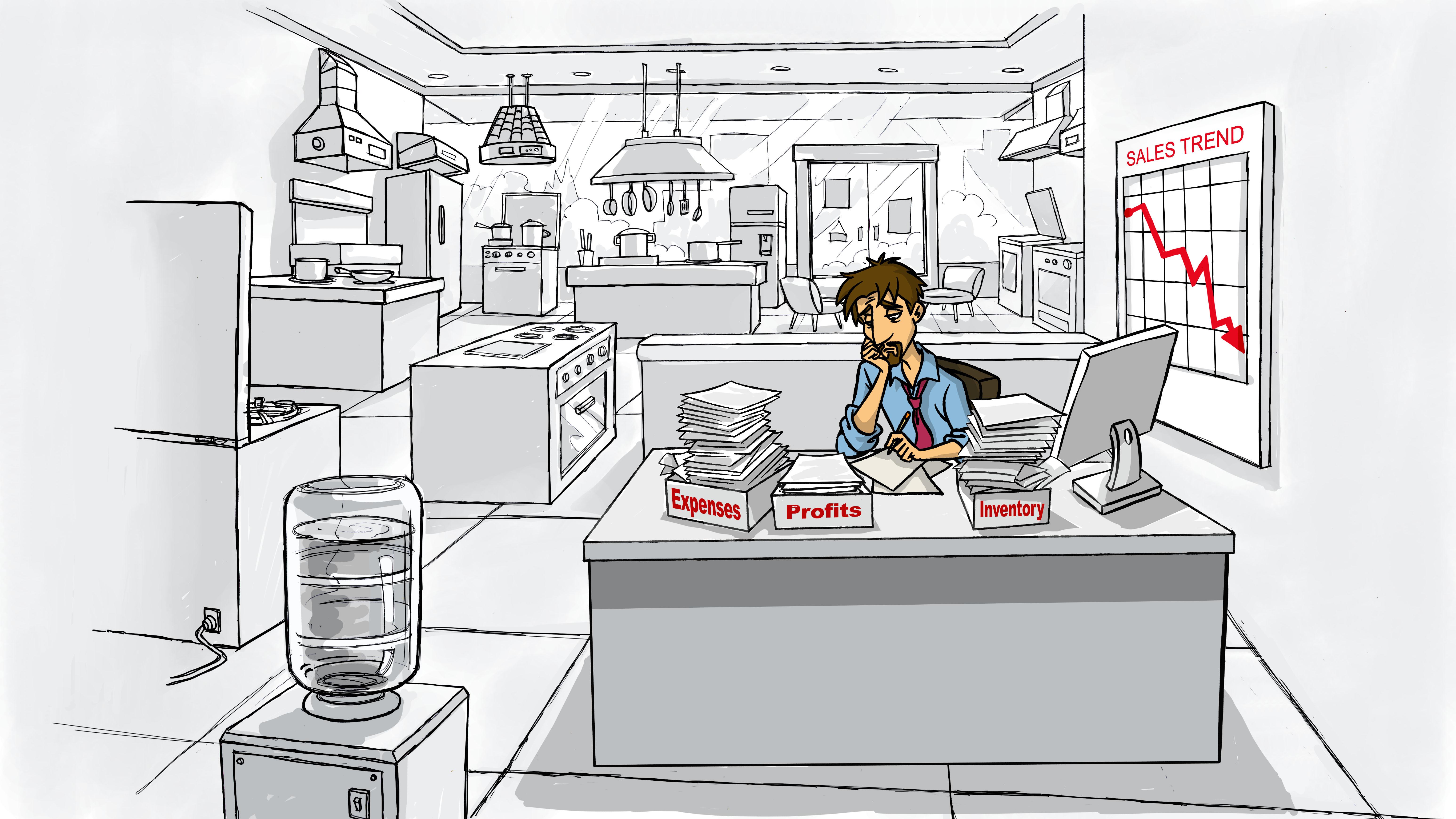 Grocery Doodles - QD_GDSc001a