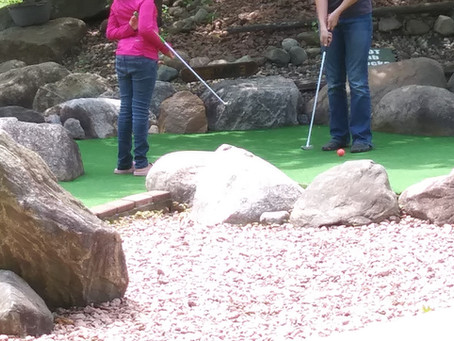 Mini-golf math