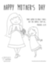 Mother_s Day Coloring Pages - WomanGirl.
