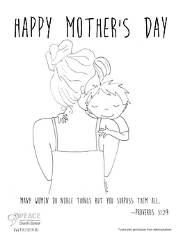 Mother_s Day Coloring Pages - WomanBoy.p
