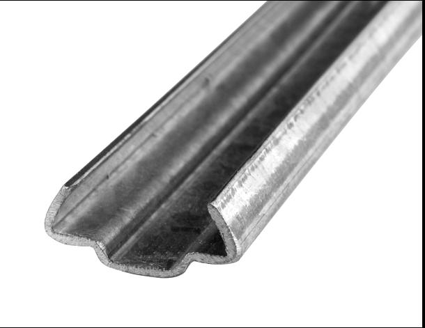 MEZ Flange Cleats - 2m Lengths