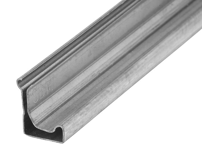 MEZ Flange Aluminium - 5m Lengths