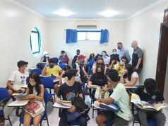 10.24.2020São Luís, Brazil- Student Se