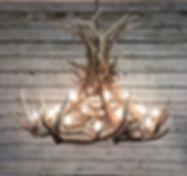 Elk Chandelier, custom antler chandelier, antler lighting, large elk chandelier, mountain home lighting, rustic lighting, large antler chandelier