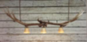 island lighting, bar light, antler light, antler chandelier