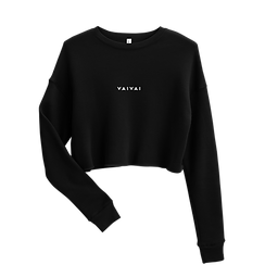 Crop Sweatshirt - BLK