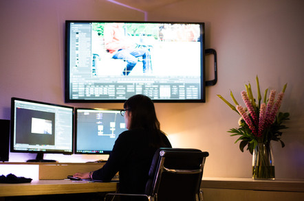 Edit and grade suite Goodge Place, Fitzrovia Post Production