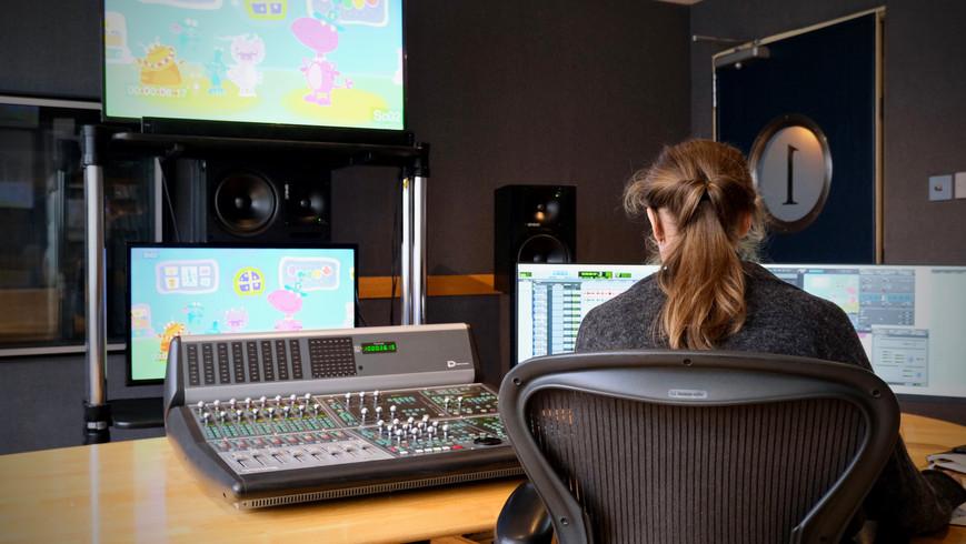 Mixing And Mastering At Fitzrovia Post Production Facility