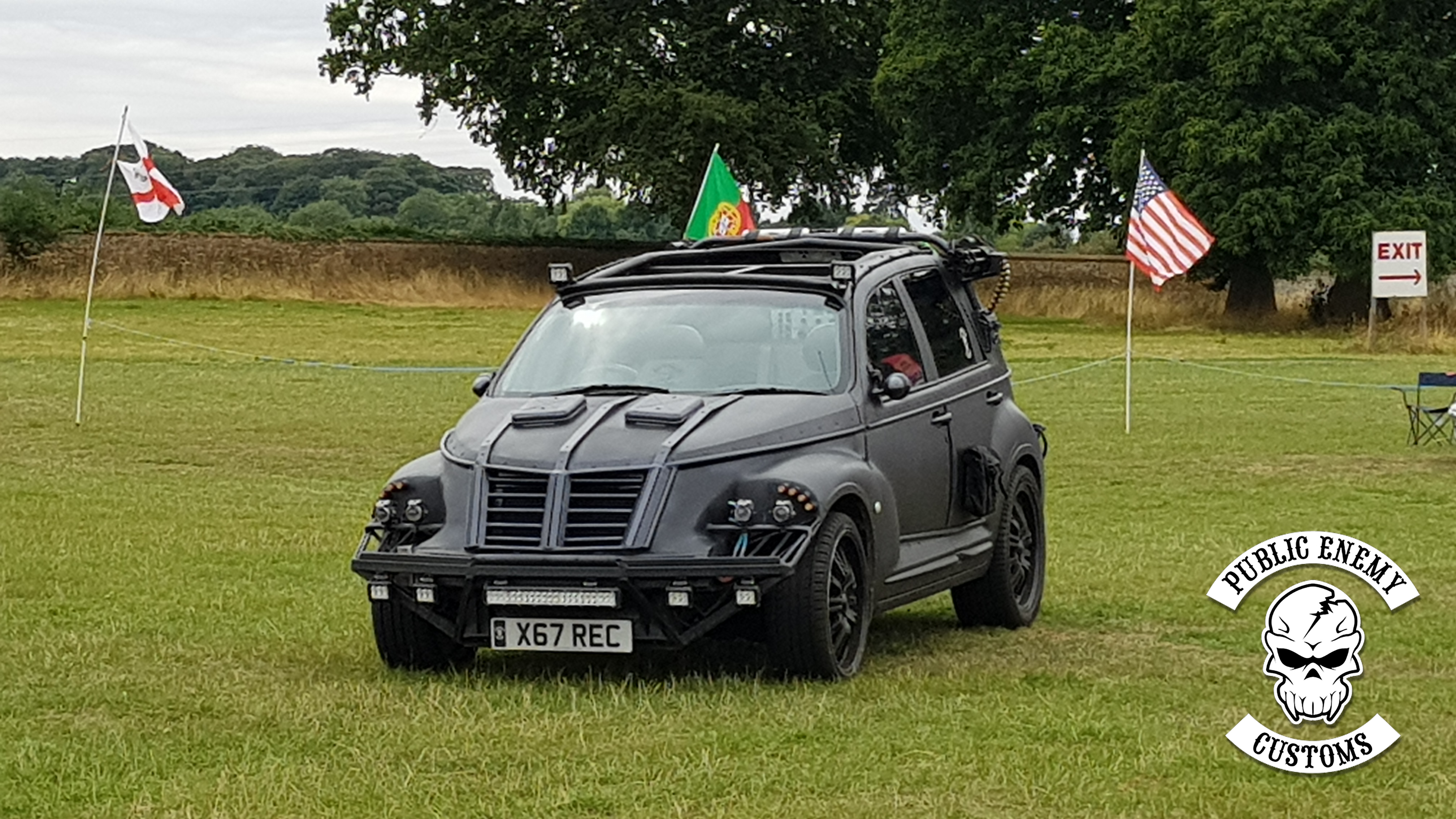 Assault cruiser at PITP Car show