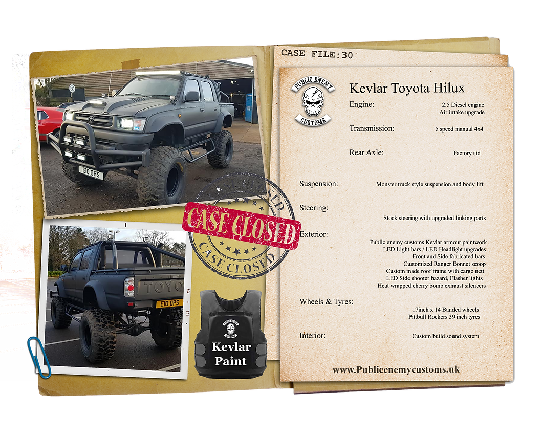 Case File 30 Toyota hilux truck.png