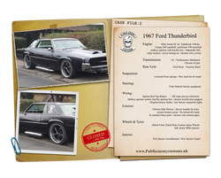 1967 Ford Thunderbird Case File 2
