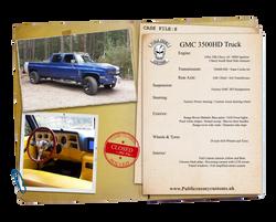 GMC 3500HD Blue Truck Case file small