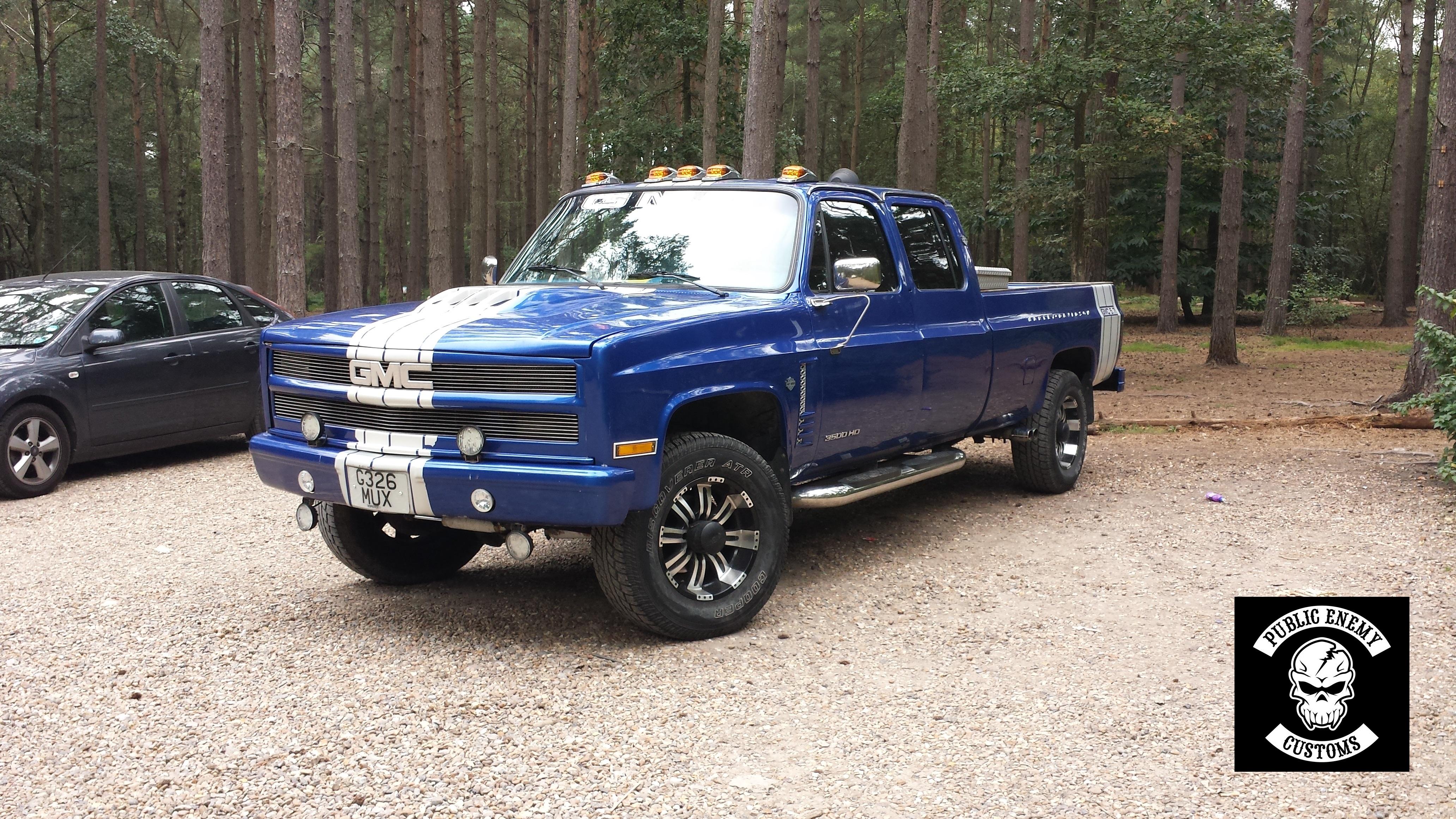 Blue Truck 2